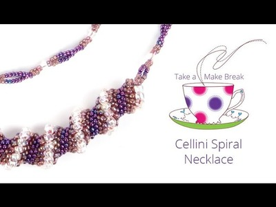 Cellini Spiral Necklace | Take a Make Break with Sarah