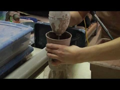 Clay Pottery Slab Building : How to Make Clay Slip