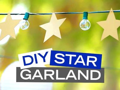 Disney's Wish Upon A Star Garland DIY