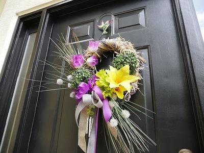 DIY- DT Spring Wreath