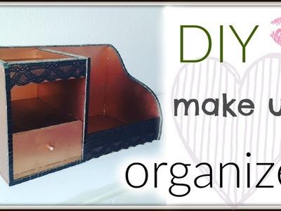 DIY: makeup organizer. storage
