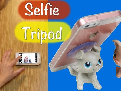 DIY Selfie tripod. How to make 2 homemade phone tripods
