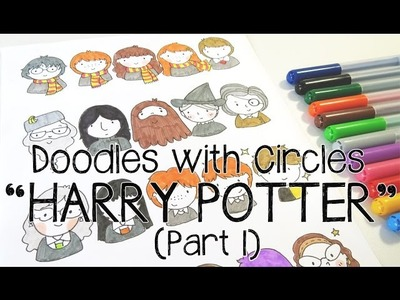 Doodles with Circles : Harry Potter (Part 1)