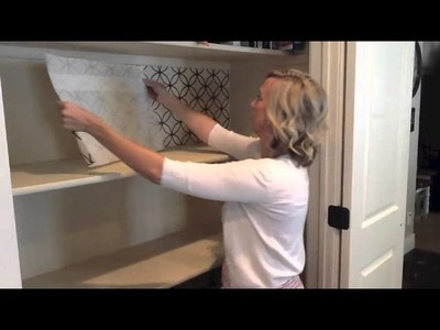 How To Apply Vinyl Backsplash