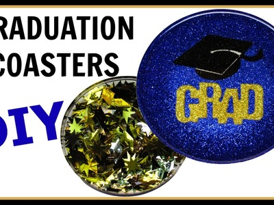 How To:  Graduation Coaster DIY ~ Craft Klatch Another Coaster Friday