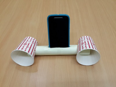 How to Make a Cool Smartphone Amplifier.Speaker