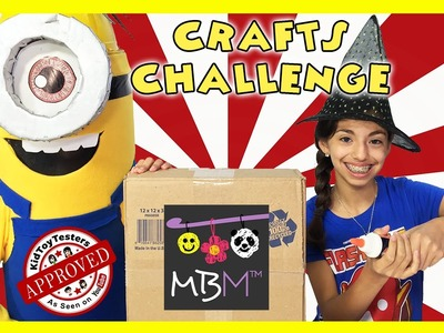 HOW TO MAKE A MINION and HALLOWEEN DECORATIONS - September Crafts Challenge