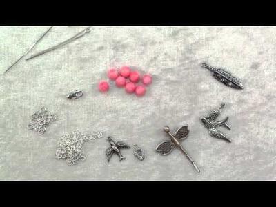 How To Make ink coral charm bracelet