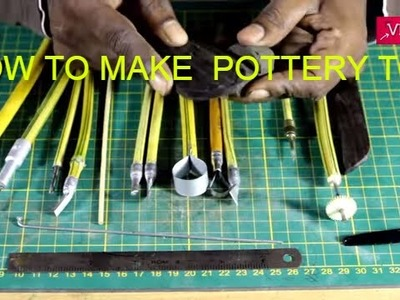 HOW TO MAKE POTTERY TOOLS