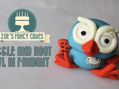 How to make the owl from Giggle and Hoot How To Cake Tutorial