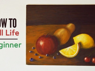 How to: Still Life for Beginners | Painting with mako