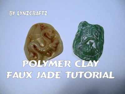 Polymer Clay Simple Faux Jade tutorial