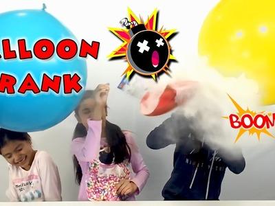 PRANKED - Balloon Prank Blind Bag Monday Surprise Balloons Ep49 | KidToyTesters