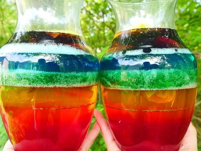 Rainbow Jello Surprise Toys | Shopkins Giant Slime Jello Opening | DCTC Kid Videos