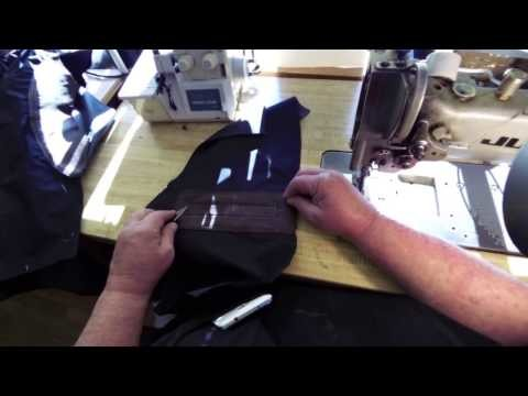 Sew a Pocket to the inside front of a Jacket lining