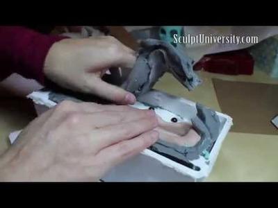 Silicone Mold Part 2, & Resin Casting! MakingFairies.com & SculptUniversity.com