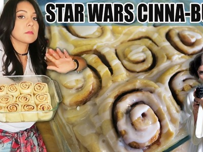 STAR WARS DAY PRINCESS LEIA CINNA-BUNS! - #TastyTuesday