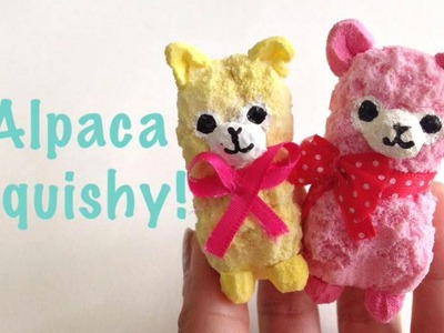 Tutorial: Alpacasso Squishy!