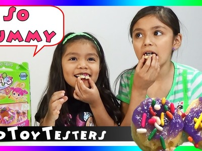 Yummy Nummies Donut Delights Maker Review and Taste Test | KidToyTesters