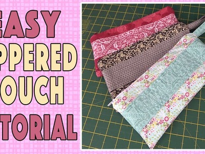 Zippered Pouch Tutorial: Learn How to Install a Zipper for Beginners