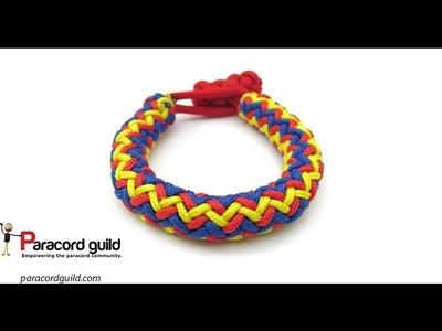 3 color hansen knot bracelet- interweave