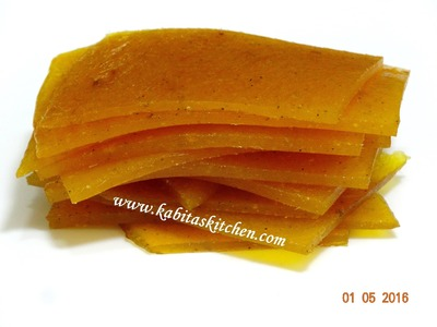 Aam Papad Recipe-How to Make Perfect Aam Papad-Homemade Mango Papad-Easy Mango Recipe