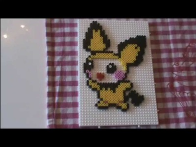 Bügelperlen Idee Kawaii Series # 12 Pokemon Pichu