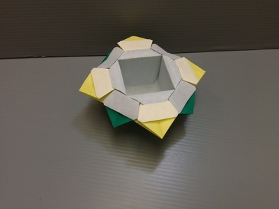 Daily Origami: 148 - Fancy Dish