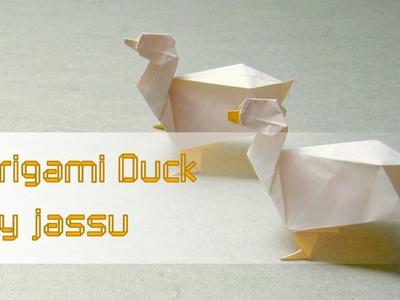 Easter Origami Tutorial: Duck (jassu. Kyu-seok Oh)