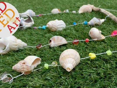 Easy Sea Shell Mobile - Nature DIY for Summer