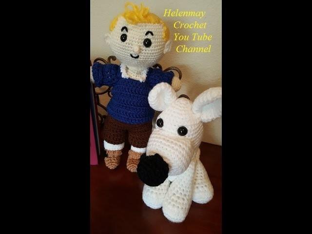 Helenmay Crochet Boy and Girl Dolls Part 1 of 3 DIY Tutorial