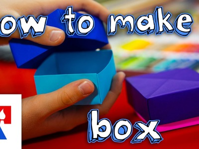 How To Fold An Origami Box With Lid