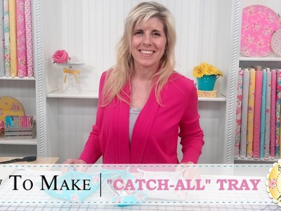"How to Make a ""Catch-All"" Tray 
