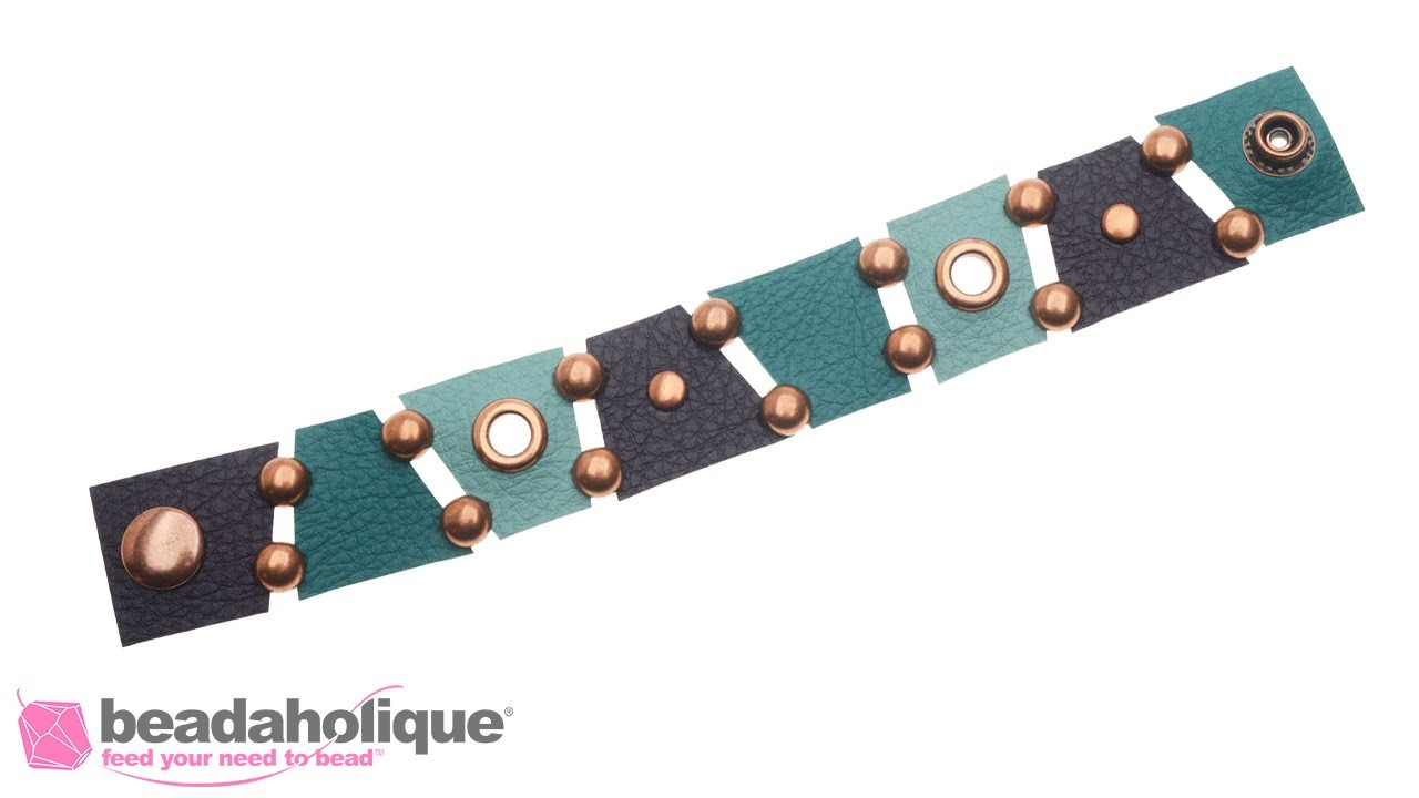 How to Make a Create Recklessly Faux Leather Bracelet with Melissa Cable