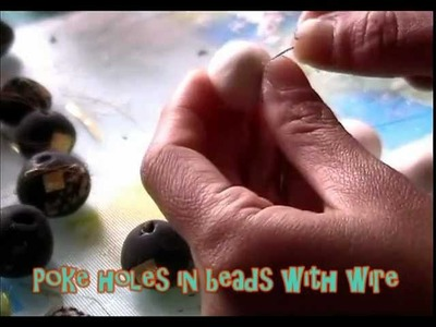How to Make Clay Beads Tutorial (New! Cold Porcelain Clay RECIPE)