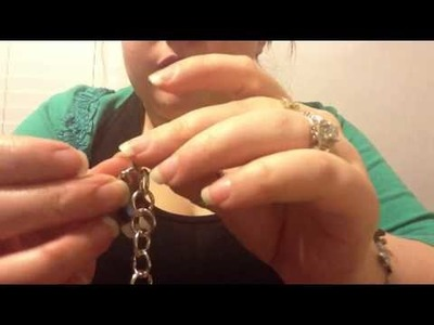 Interchangeable Charm Toggle Bracelet DIY December Day 18
