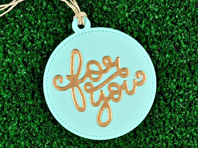 Intro Stitched Circle Tags, Scripty For You, Scripty Cheers, Merry Christmas & Let it Snow Border