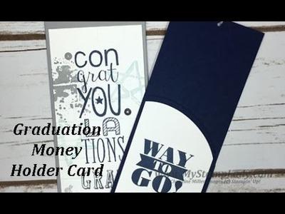 Money Holder Graduation Card