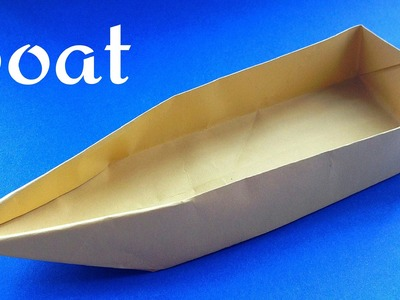 "Origami Paper ""Single point Floating Boat"""