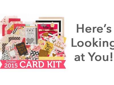 Simon Says Stamp October 2015 Card Kit Reveal & Inspiration with Shari Carroll
