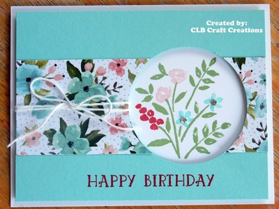 Stampin' Up! Number of Years Peekaboo Card