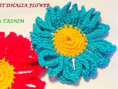 VERY EASY CROCHET DAHLIA FLOWER-2