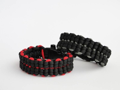 "Video on demand- ""Truck Tires"" Paracord Bracelet Pictures Tutorial-How to start a weave"