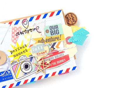 Video Tutorial: Travel Journal Kit - Say Cheese!