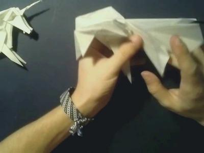 #16  Origami Unicorn by Roman Diaz (part 3 of 3) - Yakomoga Origami tutorial