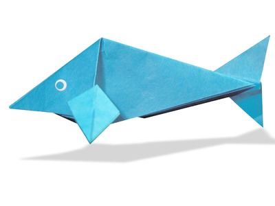 3D Origami Fish   DIY Origami Fish   Learn Origami    How To Make Easy Origami Fish