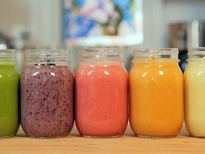 5 MORE Delicious Smoothie Recipes