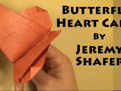 Butterfly Heart Card by Jeremy Shafer