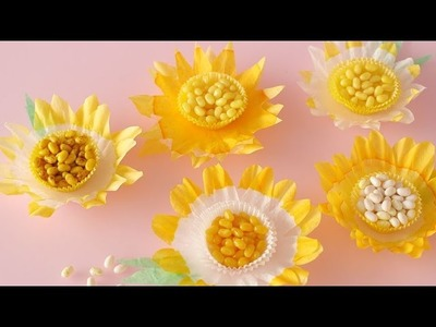 Coffee Filter Flowers - Martha Stewart