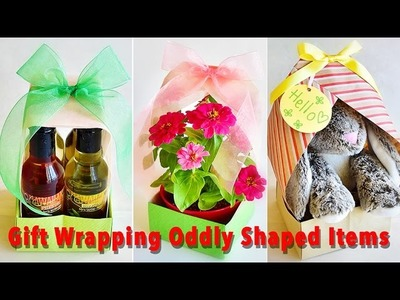 Easy & Fun Way to Wrap Oddly Shaped Gifts